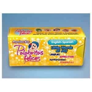 PALABRITAS FELICES BILINGUE X60 (caja de promesas) [Miscelanea]