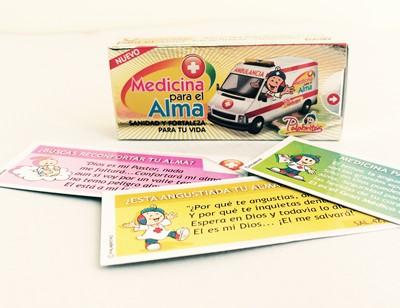 MEDICINA PARA EL ALMA X30 (Cajita de Promesas) [Misceláneos]