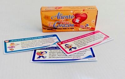 ALIENTO PARA TU CORAZON PALABRITAS X30 (caja de promesas) [Misceláneos]