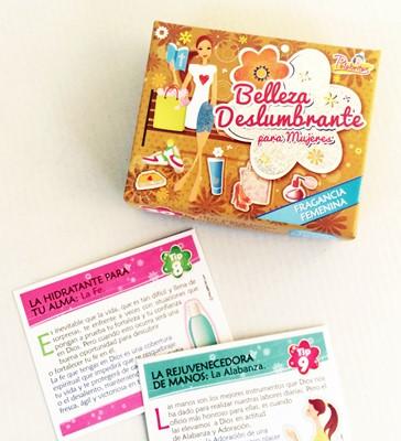 BELLEZA DESLUMBRANTE PARA MUJERES X30 PALABRITAS (caja promesas) [Miscelanea]