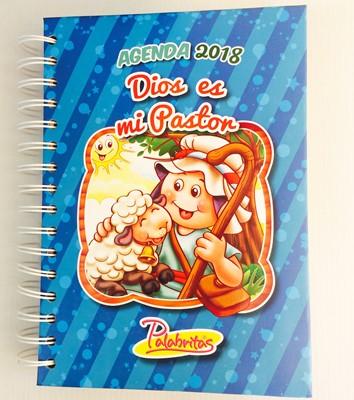 Agenda 2018 Palabritas Dios Es Mi Pastor (Tapa Dura) [Agenda]