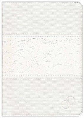 Biblia Devocional Lenguajes del Amor (Imitación piel blanca) [Biblia]
