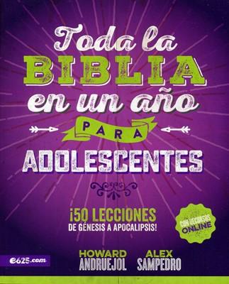 Toda la Biblia en un Año para Adolescentes (Tapa rústica suave) [Libro]