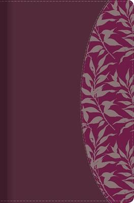 Biblia De Estudio Para Mujer - Vinotinto / Fucsia Con Indice (Simil Piel - en caja) [Biblia]
