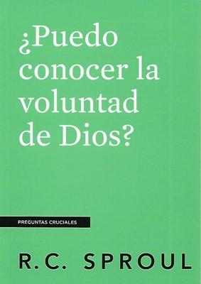 ¿Puedo Conocer la Voluntad de Dios? (Rustica Blanda) [Libro]