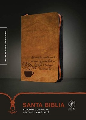 Santa Biblia NTV Compacta Café [Biblia]