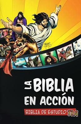 BIBLIA EN ACCION ESTUDIO TLA COLORES (Tapa Dura) [Biblia]