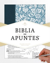 Biblia de Apuntes RVR 1960 (azul) [Biblia]