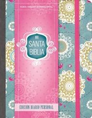 Santa Biblia NVI, Edición Diario Personal - Floral