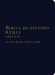 Biblia de estudio Ryrie ampliada RVR60 - Imitación piel negro