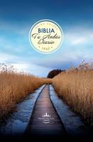 Biblia Tu Andar Diario RVR60 - Camino Azul