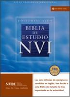 Biblia de Estudio NVI (Piel Imitación color Negro)