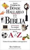 DONDE HALLARLO EN LA BIBLIA - EDICION COMPACTA