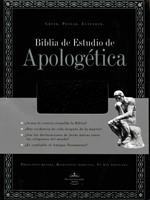 Biblia de Estudio de Apologética RVR60 (Imitación Piel Negro ) [Biblia de Estudio]