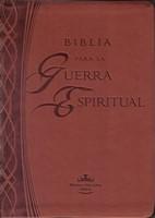 Biblia Para La Guerra Espiritual- Marron