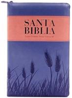 Biblia Reina Valera 1960 Letra Grande Lila Rosa