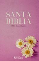 Biblia Valera 1960 Letra Grande Lila Margaritas