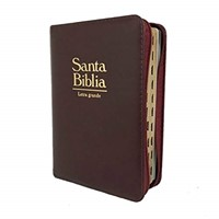 Biblia de Bolsillo RVR60 Vino Acolchada
