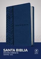 Biblia NTV compacta (Tapa sentipiel azul) [Biblia]
