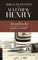Biblia de Estudio Matthew Henry- Tapa Dura