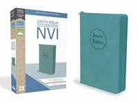 Biblia NVI Aqua con cierre (Símil Piel) [Biblia]