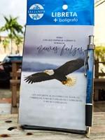Libreta Pack + Boligrafo Aguila Lucianos