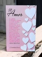 Cuadro Madera Pequeño Amor es..