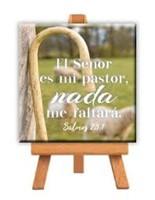 Mini cuadro lienzo El Señor es