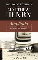 Biblia de Estudio Matthew Henry con Índice