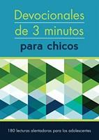 Devocionales de 3 Minutos para Chicos (Rústica) [Libro Bolsillo]