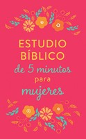 Estudio Bíblico de 5 Minutos para Mujeres (Rústica) [Libro]