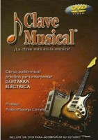 CLAVE MUSICAL GUITARRA ELECTRICA