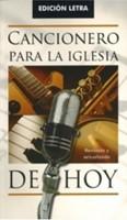 CANCIONERO LA IGLESIA DE HOY LETRA [Libro]