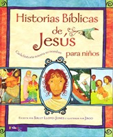 HISTORIAS BIBLICAS DE JESUS P/NIÑOS (Tapa Dura) [Libro]