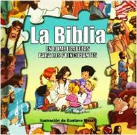 BIBLIA EN ROMPECABEZAS PRINCIPIANTES (Tapa Dura) [Libro]