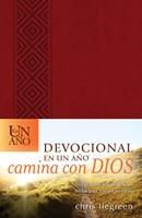 DEVOCIONAL EN UN AÑO CAMINA CON DIOS PIEL