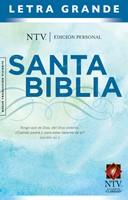 Biblia NTV Personal Letra Grande (tapa dura)