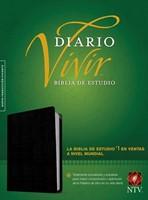 Biblia NTV de estudio Diario Vivir (Piel)