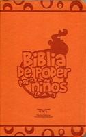 B RVC DE PODER PARA NIÑOS IMIT CUERO NARANJA (Piel especial Naranja) [Biblia]