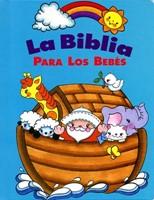 BIBLIA PARA LOS BEBES TURQUESA