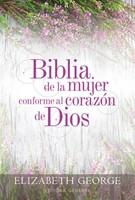 Biblia de la mujer conforme al corazón de Dios RVR60 (Tapa Dura) [Biblia]