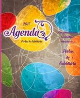 Agenda perlas de sabiduria colores brillantes