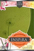 Biblia de promesas Inspira Verde (Sentipiel) [Biblia]
