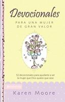 DEVOCIONALES PARA UNA MUJER DE GRAN VALOR (Tapa Dura) [Libro]