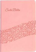 RVR 1960 Biblia rosado símil piel