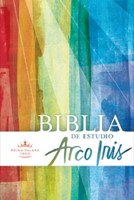 Biblia de Estudio Arco Iris Tapa Dura Multicolor
