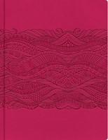 Biblia de apuntes RVR edición ilustrada rosado