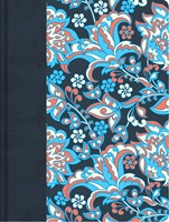 RVR 1960 Biblia de apuntes, edición ilustrada azul