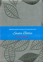 Biblia Letra Grande Imitación Piel Gris (simil piel) [Biblia]