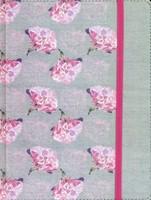 Biblia de Apuntes Gris Floreana Textil